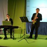 Duo Swinging Classics mit Akos Hoffmann und Nikolai Juretzka bei der Barmer GEK