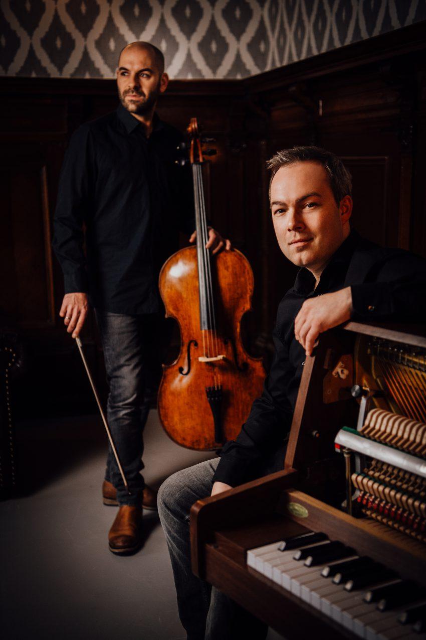 Sorour und Juretzka Cello und Klavier